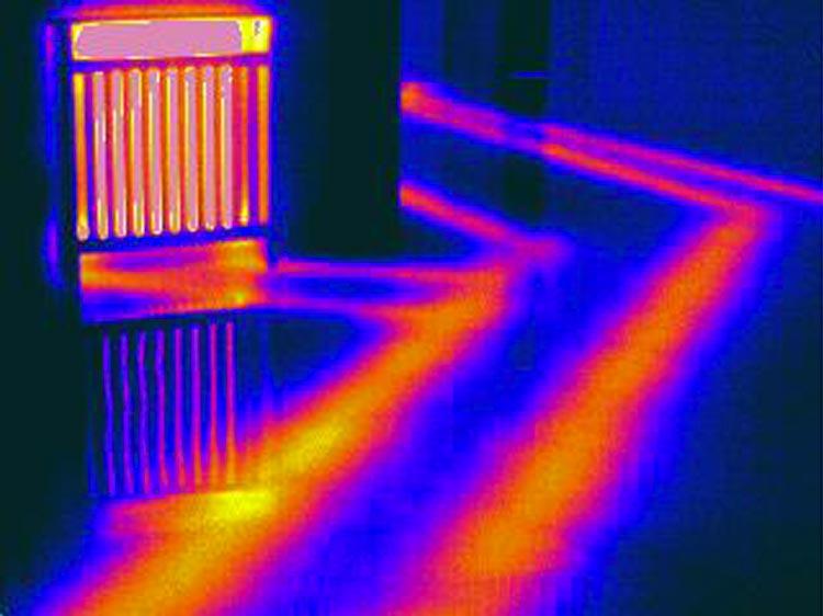 perdite acqua termografica